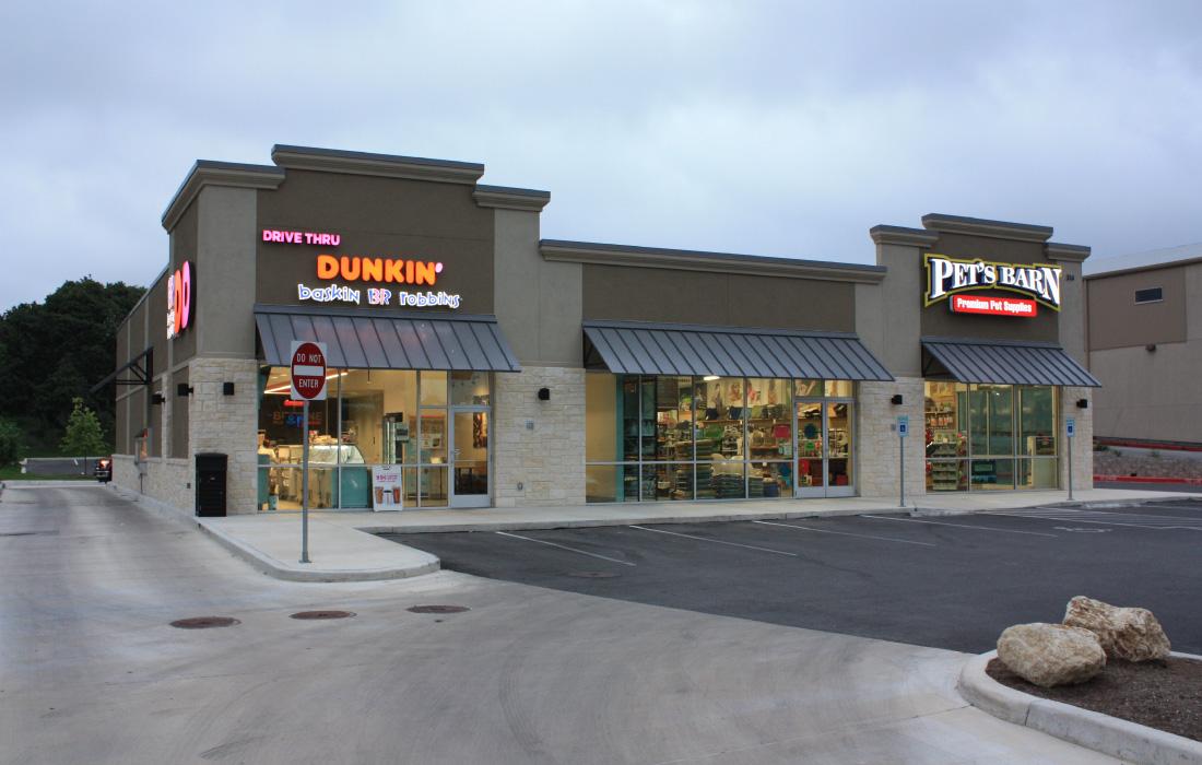 Dunkin Donuts Boerne San Antonio New Braunfels Texas Better Built Enterprises Inc
